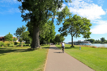 Rheinpromenade - Jardin des deux Rives - Kehl - Strasbourg