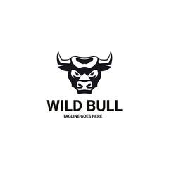Wild Bull. Bull logo