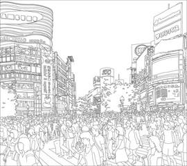 渋谷駅交差点