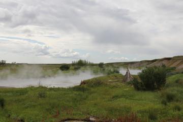 Deildartunguhver, Iceland