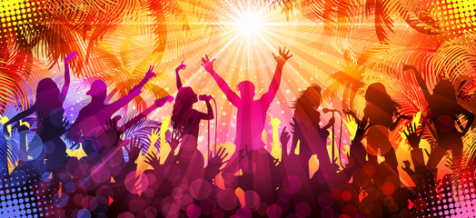 Summer concert - Disco-party