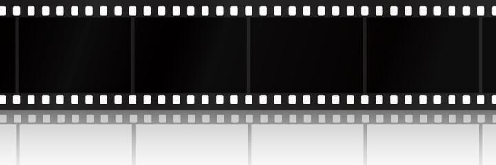 Filmstreifen mit Schatten - SW