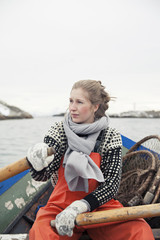 Female Women seaman fisherman