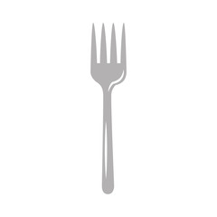 fork cutlery isolated icon vector illustration design