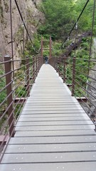Seoraksan Mountain climbing bridge