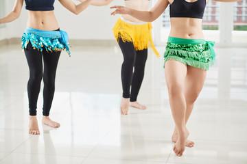 Belly Dancers Shaking Hips
