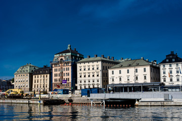 Bürgerhäuser in Stockholm