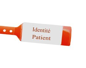 bracelet d'identification d'admission à l'hôpital