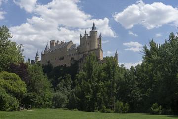 Real Alcázar de la ciudad de Segovia, España