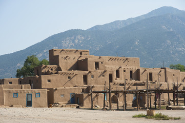 Old Pueblo near Taos, New Mexico