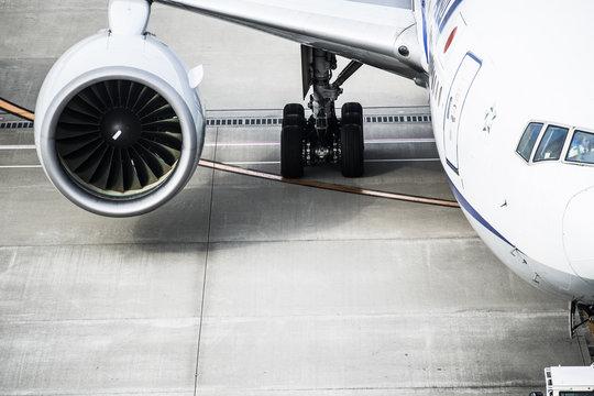 Engine of passenger aircraft