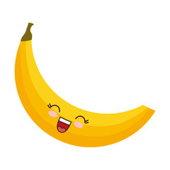 kawaii banana icon
