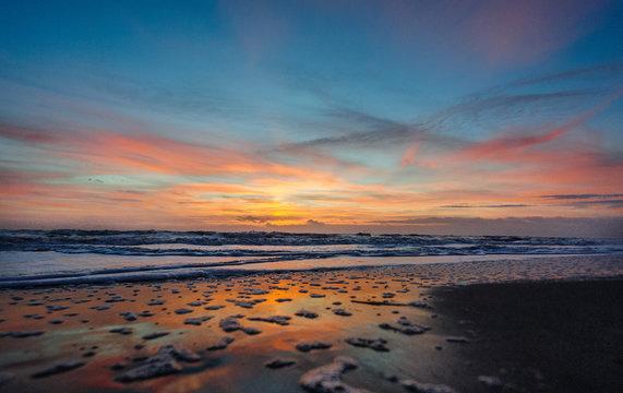 Sunrise over Cocoa Beach