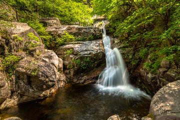 Guryoung Waterfall of the Sogeumgang, Gangneung-si, Gangwon-do, Kore