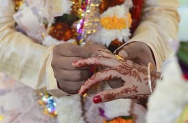 Indian wedding in Rishikesh, November 2015. India