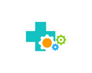 Work Medicine Icon Logo Design Element