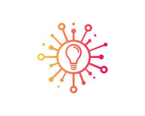 Share Creative Icon Logo Design Element