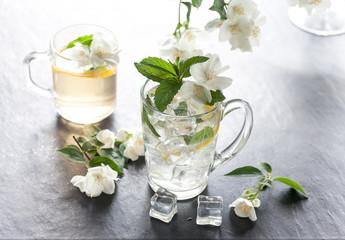 ice juice with jasmine