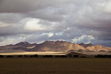 Small mountains in Sossusvlei, Namibia