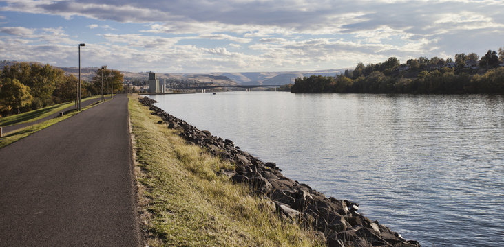 Lewiston Idaho riverfront