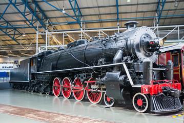 Chinese steam engine at National Rail Museum York
