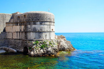 Wall Mural - Fortress in Dubrovnik