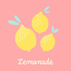 Lemons Card Design