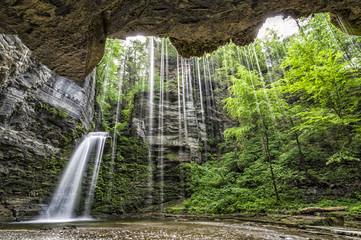 Montour Waterfall