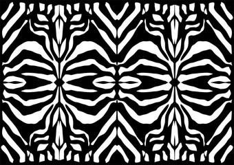 Zebra stripes background