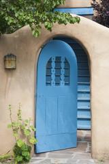Open Southwestern Courtyard Gate