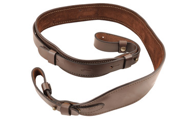 Carrying strap for hunting rifle, isolated