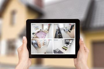 home camera cctv monitoring system alarm smart house video