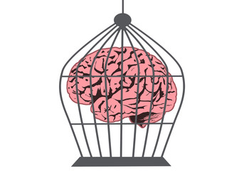 Caged brain