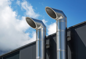 Lüftungsrohre aus Edelstahl –Lüftungstechnik Kältetechnik Klimatechnik