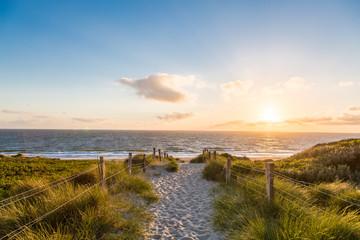 Türaufkleber Nordsee Der Weg zum Meer