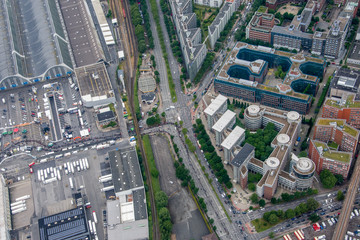 Hamburg, Germany - Panorama from above