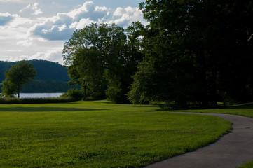 River Landscape Louisville KY.