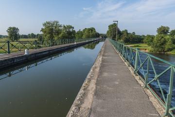 Water Bridge Digoin France