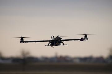 Fliegender Copter/Drohne