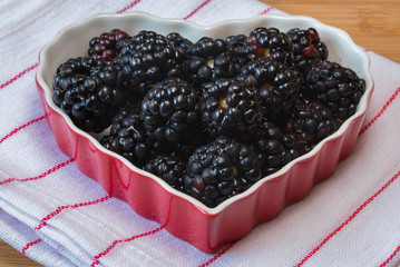 I love blackberries