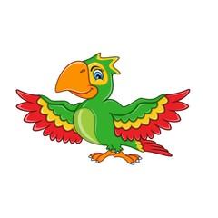 Parrot Cartoon Standing