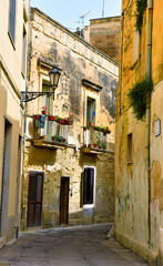 Historic center of Lecce, Italy