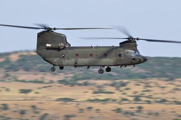 Vuelo de helicóptero Chinook