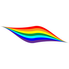 Rainbow wave sign 9.04