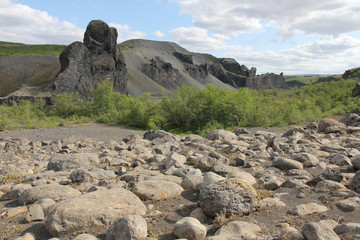 Hjodaklettar, Iceland