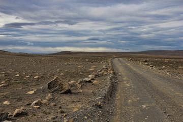 Sprengisandur, ancient pass in Iceland