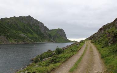 Sailing around the Lofoten Islands, Norway