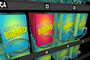 Personal Brand Unique Reputation Marketing Your Career 3d Illustration