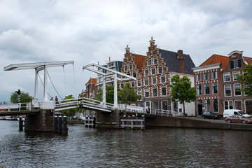 Netherlands, Haarlem Gravestenenbrug