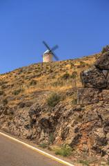 Autocollant pour porte Moulins Consuegra, Castilla la Mancha, Spain